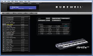 Kurzweil Artis Editing Software