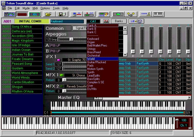 Korg triton sounds free download